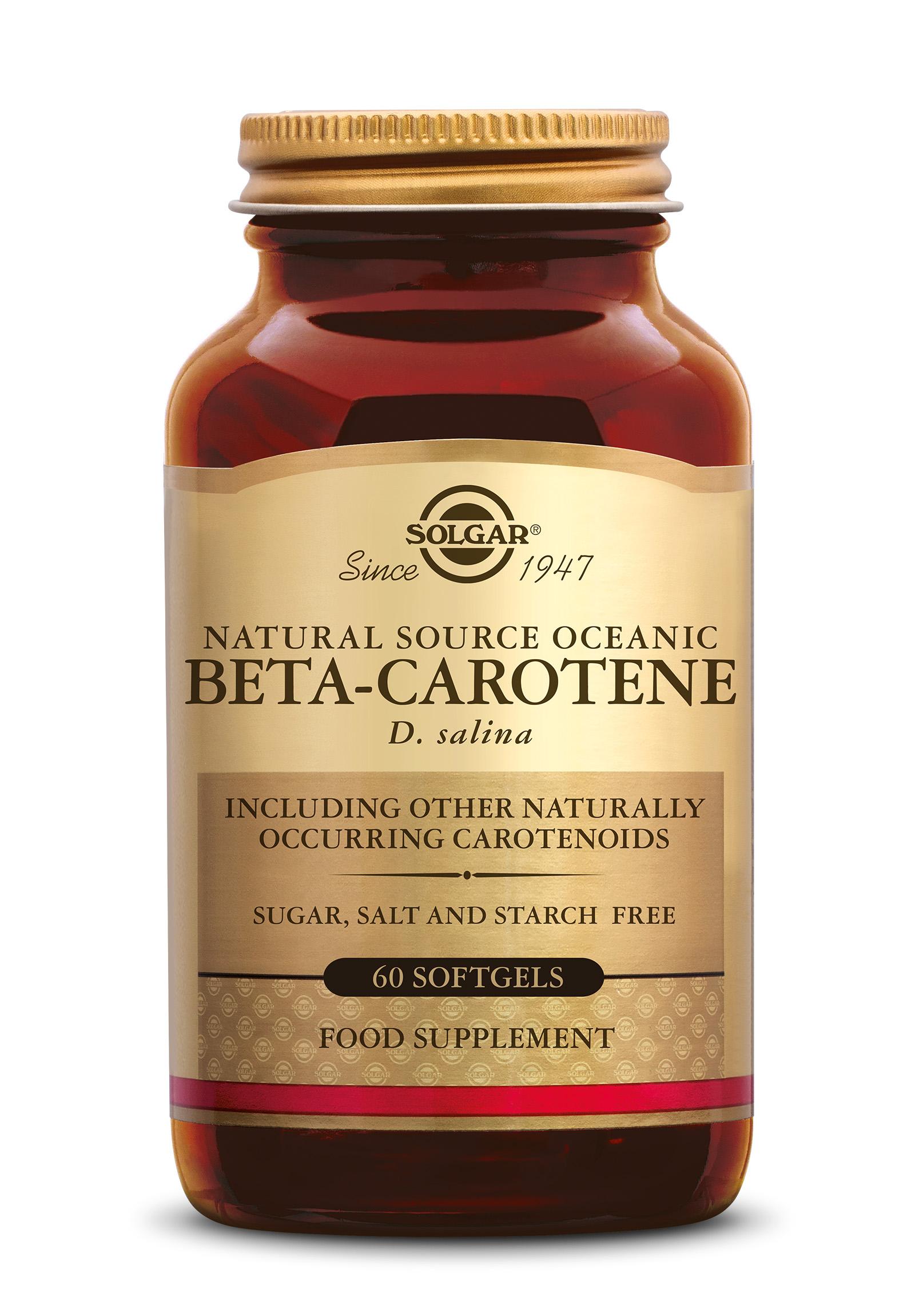 Bèta-Carotene 7 mg, Solgar, Solgar Bèta-Carotene 7 mg wordt gebruikt door mensen die regelmatig zonnen.