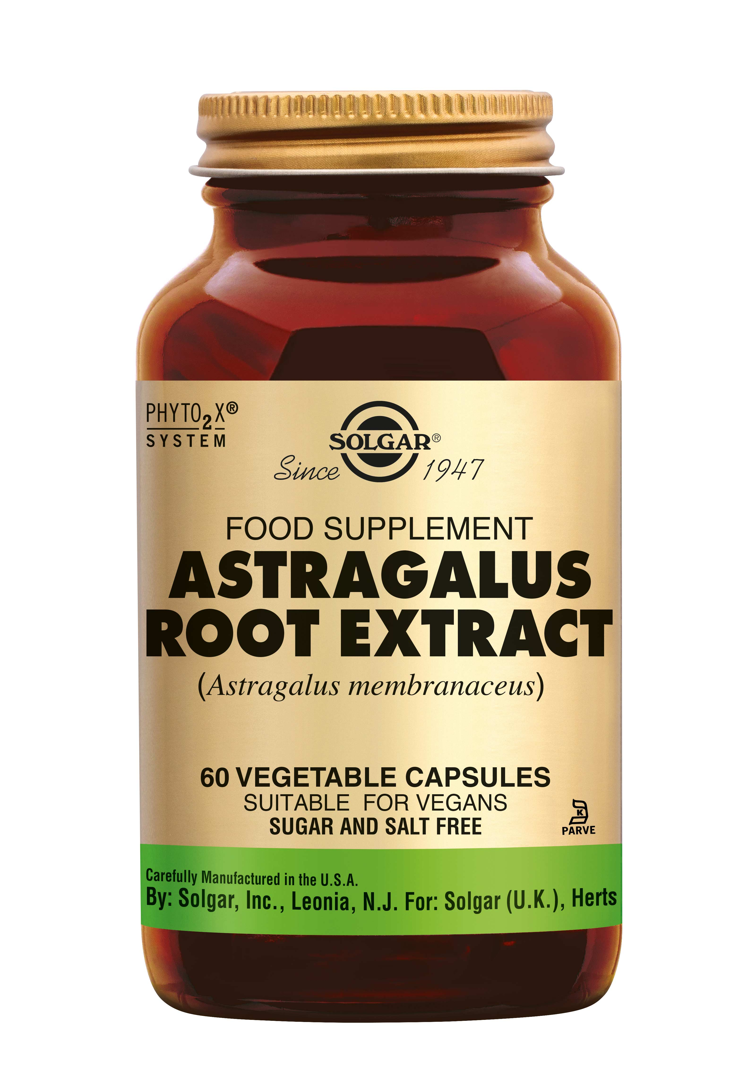 Astragalus Root Extract, Solgar, Solgar Astragalus (Astragalus membranaceus) ondersteunt de weerstand.